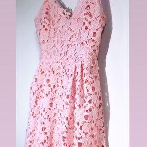 Pink Lace Nordstrom ASTR Dress